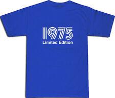 1975 LIMITED EDITION Cool T-Shirt S-XXL # Blu