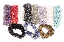 Wholesale Lot 8 Gemstone Chip Stretch Bracelet - Amethyst Turquoise Quartz etc.