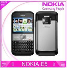 """Original Nokia E5 Unlocked 3G network WIFI GPS Mobile Phone 5MP Camera 2.4"""""""