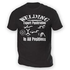 Soldadura Para Hombres Camiseta-x13 colores-Regalo Presente Divertido mecánico Yoga Clásico