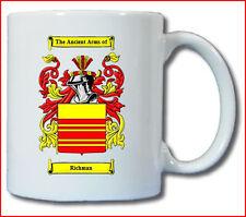 RICHMAN (ENGLISH) COAT OF ARMS COFFEE MUG