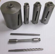 Toolpak Diamond Core Cores 38mm 52mm 65mm 127mm Chuck Drift Pilot SDS