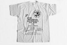 Vintage Surf T-Shirt 3rd Annual Bodysurfing Championships 1974 Sandy Beach HI
