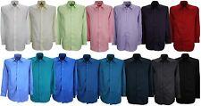Bellissimo luxe satin coupe régulière infroissable chemise