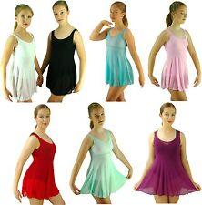 Ballet Dance Dress Costume Black White Red Purple Pink Blue Green -6 8 10 12 14