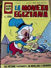 Albo Davy La Moneta egiziana n°1 1973 ed.Bianconi