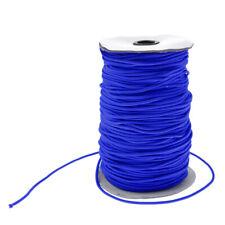 3mm Blue Elastic Bungee Rope Shock Cord Tie Down Trailers Marine Boats Roof Rack