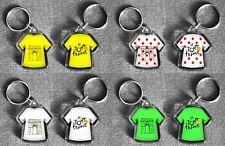 Tour de France t-shirt/jersey Llavero Amarillo, Lunares, Verde, Blanco