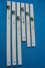 Harpsichord Jacks-Original William de-Blaise Wooden Jacks-Limited Stock