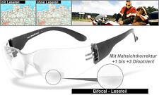 HSE SportEyes SPRINTER 2.3 2231-n Bifocal Sportbrille Motorradbrille