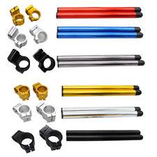 "31/33/38/46/48/51/53/54/55mm CNC Fork Tube Clip-on 7/8""22mm Handlebar Motorcycle"