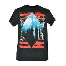 Tony Hawk Diamond Forest Graphic Designer Tshirt Nature Woods Tee Black