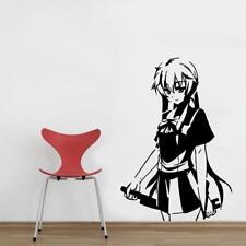 Yuno Manga WALL STICKER Decal Home Decor Art Mural Stencil Silhouette ST130