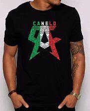 Saul Canelo Alvarez Special Edition Men's T-shirt. Aztec Mexico flag Inspired T