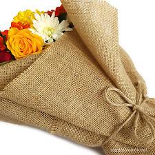 Luxury Decor Natural Jute Hessian Burlap Florist Wrapping Fabric 50/100 cm wide