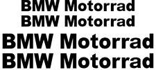 4x BMW Motorrad Vinyl Decal Sticker. 2 sizes. 10 colours