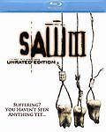 Saw III (Blu-ray Disc, 2007, Blu-Ray Widescreen)