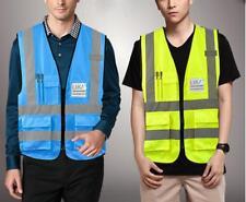 High Visibility Reflective Safety Vest Clothing waistcoat Vests Security Jacket