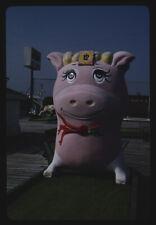 Photo Pink pig Joyland Golf Daytona Beach Florida 1990 Margolies 03a