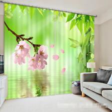 3D Pfirsichblüte 43 Blockade Foto Vorhang Druckvorhang Vorhänge Stoff Fenster DE