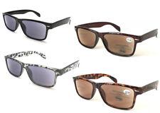 SL142 Retro Stylish Plastic Wayfarer Classic Reading Sunglasses UV400 Protection