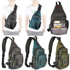 Nylon Sling Bag Sling Backpack Chest Bag Pack Shoulder Bag for Men Crossbody Bag