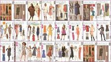 OOP McCalls Sewing Pattern Misses Dresses You Pick