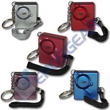 Mini Minder Loud Handbag Personal Panic Rape Attack Safety Security Alarm 140db