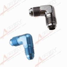 AN3 AN4 AN6 AN8 AN10 AN12 90 Degree Flare Union Fuel Fitting Adapter Male