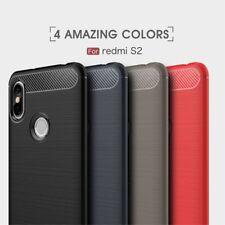 Housse etui coque silicone gel carbone pour Xiaomi Redmi S2 + film ecran
