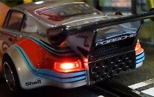 Slotcar LED Beleuchtung WARMWEISS Front & Heck mit STANDLICHT für Carrera  88888