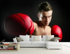 3D Boxer Hübscher Kerl  83 Tapete Wandgemälde Tapete Tapeten Bild Familie DE
