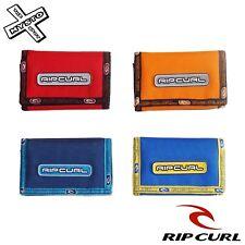 Rip Curl ' Orbit ' Cartera Plegable Azul Rojo Naranja Amarillo Cierre Adhesivo