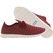 $90 Native Men Apollo Moc Embroidered red shell white premium fashion shoes