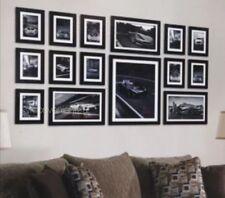 15pcs Wood Wooden Effect Multi Picture Photo Frames Collage Set Various Colors