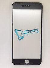 New Front Outer Screen Glass Len + Frame Bezel + 250um OCA For iPhone 8