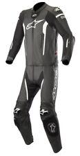 Alpinestars Race Suit - MISSILE LEATHER SUIT 2 PC - TECH-AIR COMPATIBLE Blk/Wht