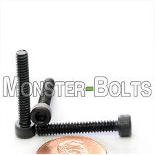 #6-32 - Socket Head Cap Screws - SAE Alloy Steel w/ Thermal Black Oxide coating
