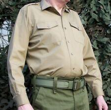 BRITISH ARMY NO.2 MILITARY UNIFORM KHAKI SHIRT