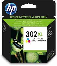 HP302XL Colour Original HP Printer Ink Cartridge F6U67AE
