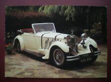 POSTCARD RP CAR MERCEDES 1932