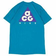 Nike ACG Logo Tee Neo Turquoise T-Shirt AO4643-430 Size S M L XL XXL