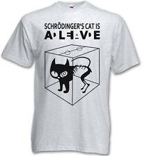 SCHRÖDINGER´S CAT IS ALIVE DEAD I T-SHIRT - The Big Schroedinger TV Bang Theory