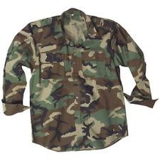 Mil-Tec Hombres Manga Larga Uniforme Militar Del Ejército Camisa Algodón Caza Su