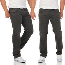 Diesel Herren Jeans Waykee 0859X Stretch Hose Regular Straight grau NEU