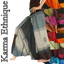 SAROUEL Createur NEPAL (36 à 48) pantalon jupe aladin hippie chic ethnique SA19