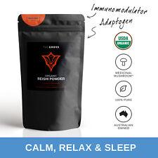 The Grove Premium Trusted Organic Reishi Powder | Sleep, anti-fatigue, ADAPTOGEN