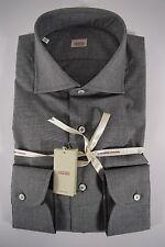 ALESSANDRO GHERARDI camicia UOMO classica sartoriale COTONE grigio tg. 39-42-43