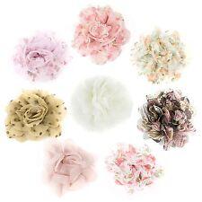 Broche Tissu Décoratif Fleur