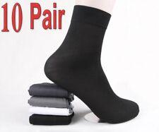 Lot 10 Pairs Man's Short Bamboo Fiber Socks Stockings Middle Socks 4 Colors